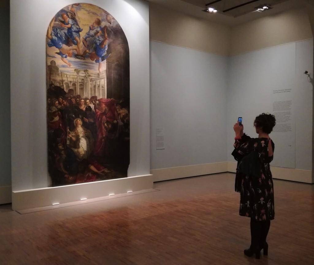 Sant'Agnese resuscita il figlio del prefetto, Miracolo di Sant'Agnese di Tintoretto