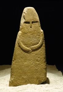 Stele di_Vado all'Arancio Museo archeologico di Massa Marittima