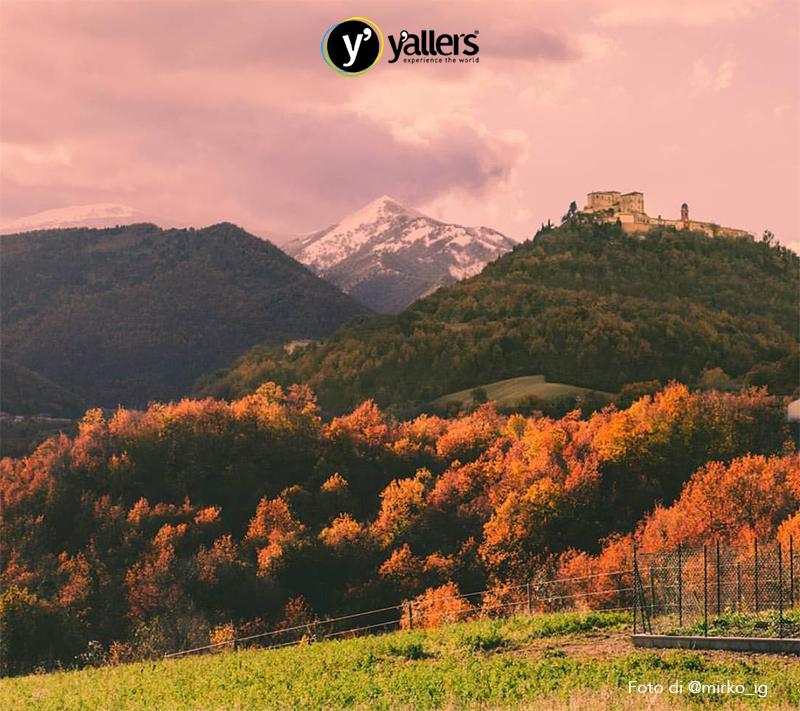 Invasione yallers al castello di frontone for Castello di frontone